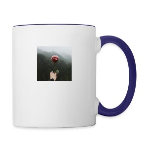 rose - Contrast Coffee Mug