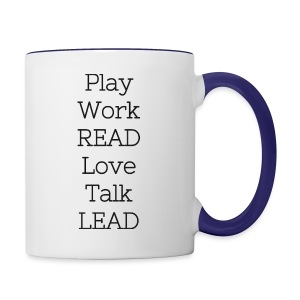 Play_Work_Read - Contrast Coffee Mug