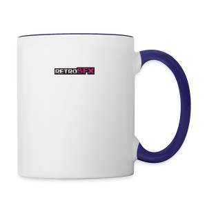 RetroSFX logo - Contrast Coffee Mug