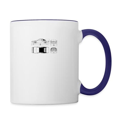 artists rendering - Contrast Coffee Mug