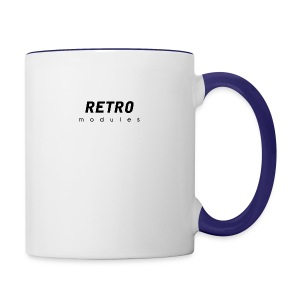 Retro Modules - sans frame - Contrast Coffee Mug