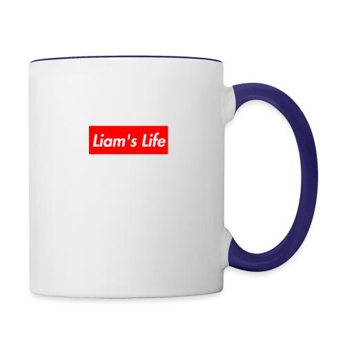 Liam's Life - Contrast Coffee Mug