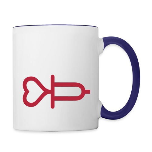 Addicted to love - Contrast Coffee Mug