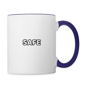 S.A.F.E. CLOTHING MAIN LOGO - Contrast Coffee Mug