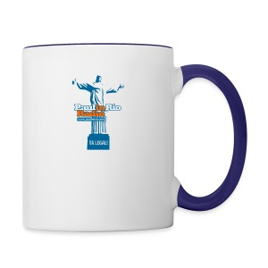 Paul in Rio Radio - The Thumbs up Corcovado #2 - Contrast Coffee Mug