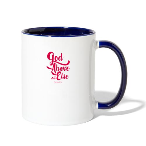 Psalm 96:4 God above all else - Contrast Coffee Mug