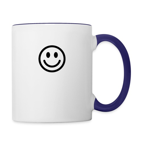 smile - Contrast Coffee Mug