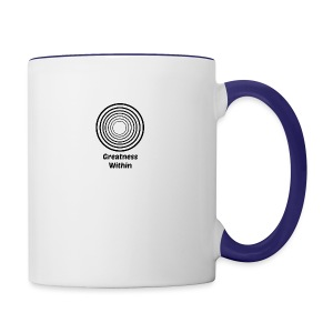 Greatness Within - Contrast Coffee Mug