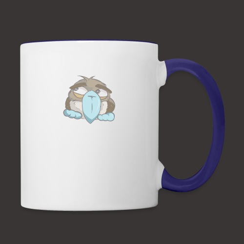 Cute Boobie Bird - Contrast Coffee Mug
