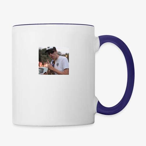 big man - Contrast Coffee Mug
