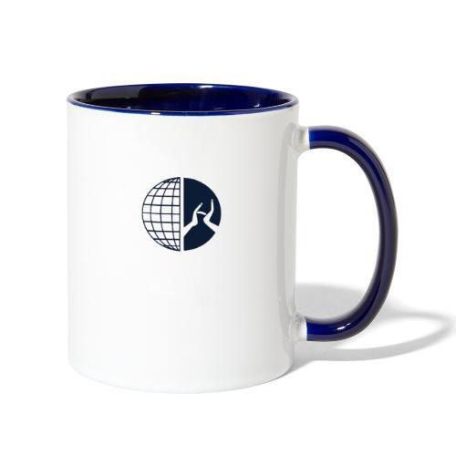 DMI Logo Dark Blue - Contrast Coffee Mug