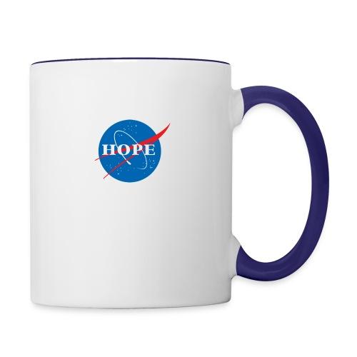 Hope (Nasa design) - Contrast Coffee Mug
