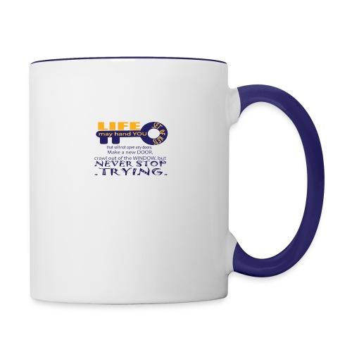 PJeans4 - Contrast Coffee Mug