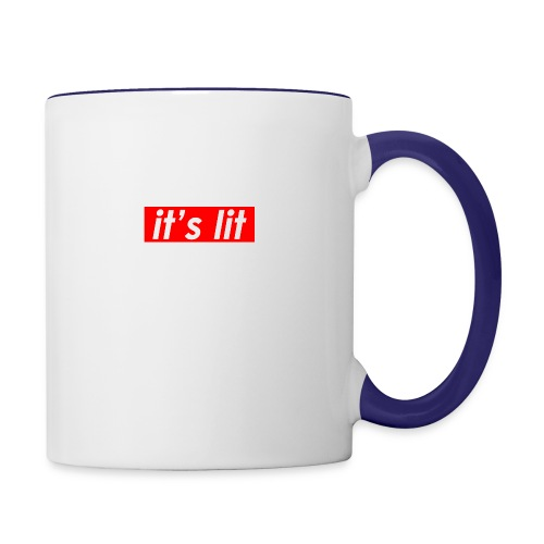 ITS LIT shirts - Contrast Coffee Mug