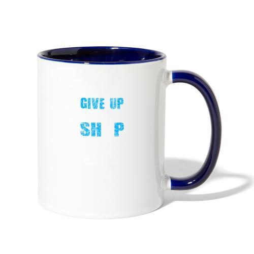 Dont Give Up The Ship - Contrast Coffee Mug