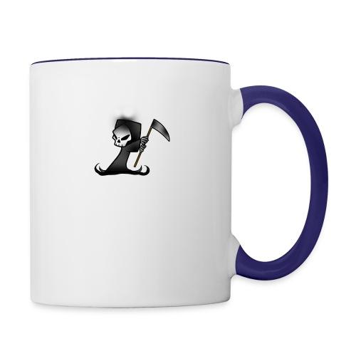 the grim - Contrast Coffee Mug