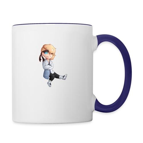 Martial Art Master Waifu Pancakes - Contrast Coffee Mug