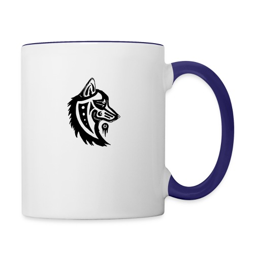 wolfman - Contrast Coffee Mug