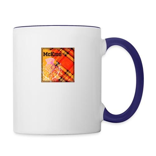 mckidd name - Contrast Coffee Mug