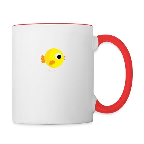 HENNYTHEPENNY1 01 - Contrast Coffee Mug