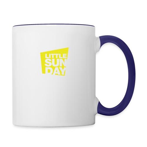littleSUNDAY Official Logo - Contrast Coffee Mug