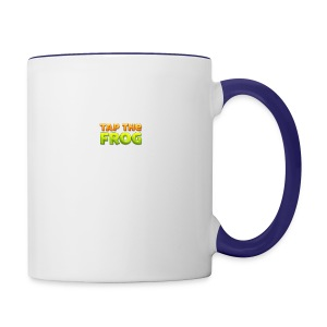 Tap the frog - Contrast Coffee Mug