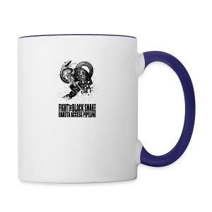 Fight the Black Snake NODAPL - Contrast Coffee Mug