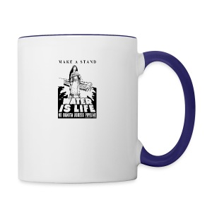 Make A Stand, Water is Life - Contrast Coffee Mug