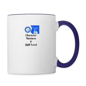 Character, Business & Skill Level - Contrast Coffee Mug