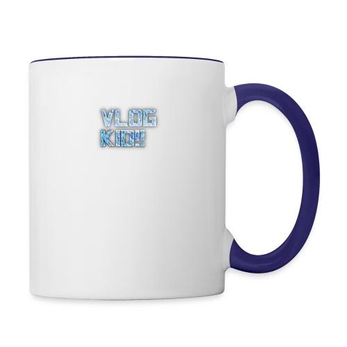 Vlog Kid - Contrast Coffee Mug