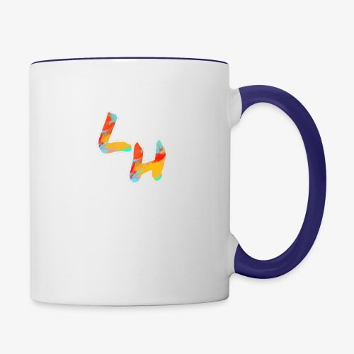 Los Hermanos Logo - Contrast Coffee Mug