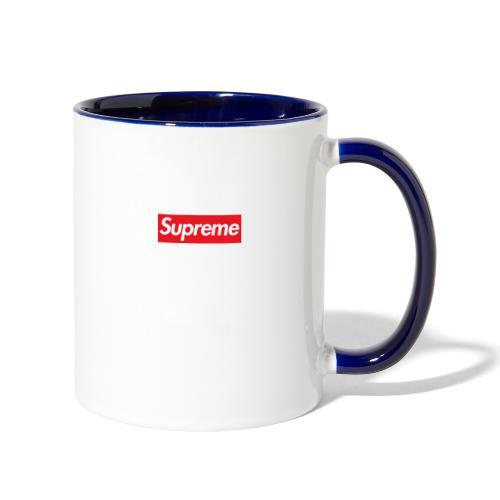 Supreme - Contrast Coffee Mug