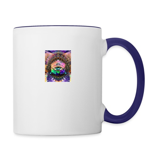 ruth bear - Contrast Coffee Mug