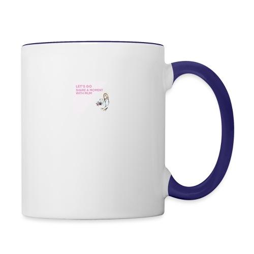 Leafs go mums - Contrast Coffee Mug