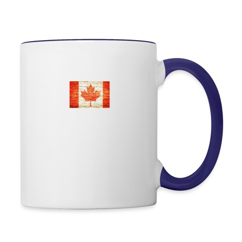 Canada flag - Contrast Coffee Mug