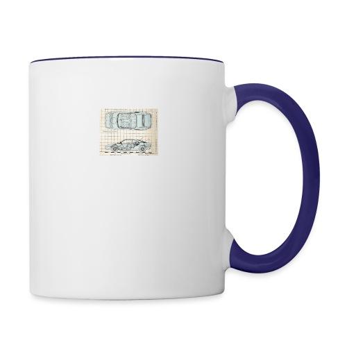 drawings - Contrast Coffee Mug