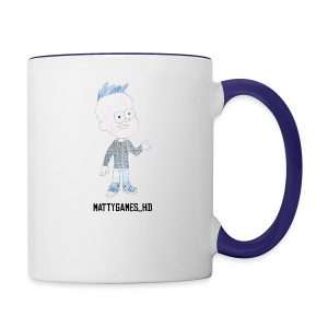 MattyGames pillow case - Contrast Coffee Mug