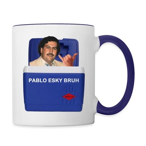 Pablo Esky Bruh - Contrast Coffee Mug