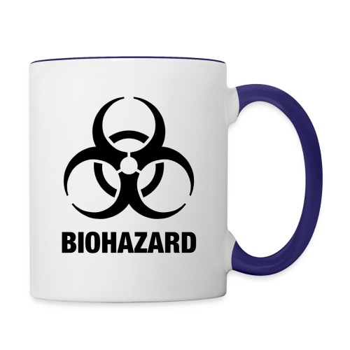 Biohazard - Contrast Coffee Mug