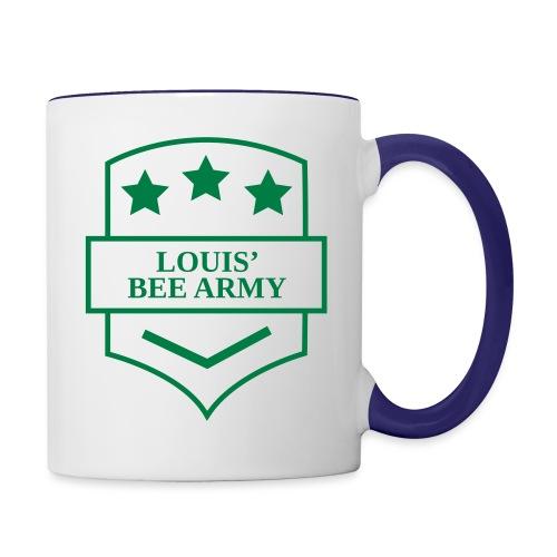 Louis' Bee Army - Contrast Coffee Mug