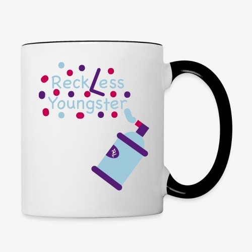 reckless youngster boys - Contrast Coffee Mug