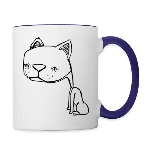 Meowy Wowie - Contrast Coffee Mug