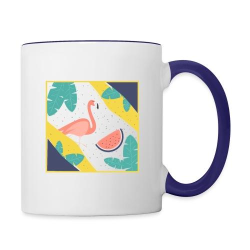 Flamingo - Contrast Coffee Mug