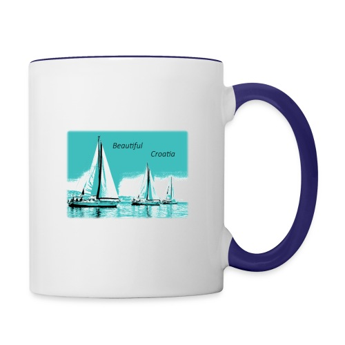 Beautiful Croatia - Contrast Coffee Mug