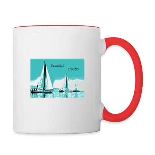 Beautiful Croatia - Contrast Coffee Mug