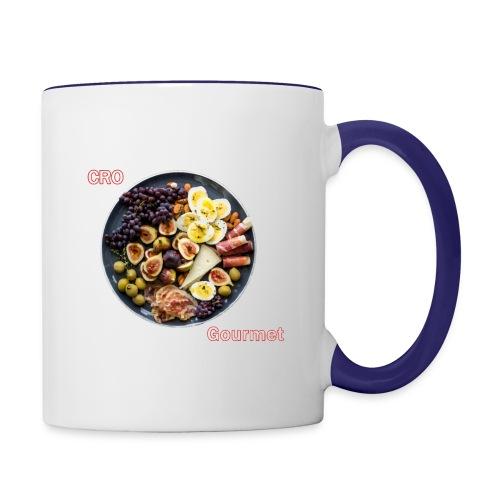 Croatian Gourmet - Contrast Coffee Mug