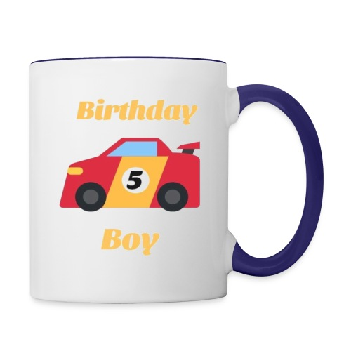 Birthday Boy 5 Funny Gift For Cars Lovers