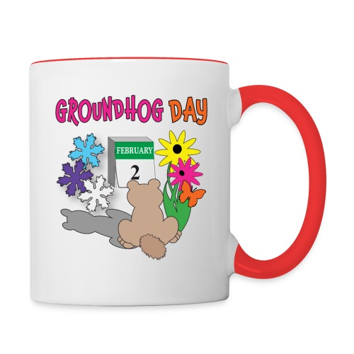 Groundhog Day Dilemma - Contrast Coffee Mug
