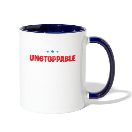 Born To Be Unstoppable - Contrast Coffee Mug