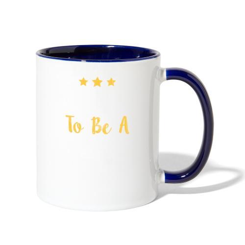 Born To Be A Winner - Contrast Coffee Mug